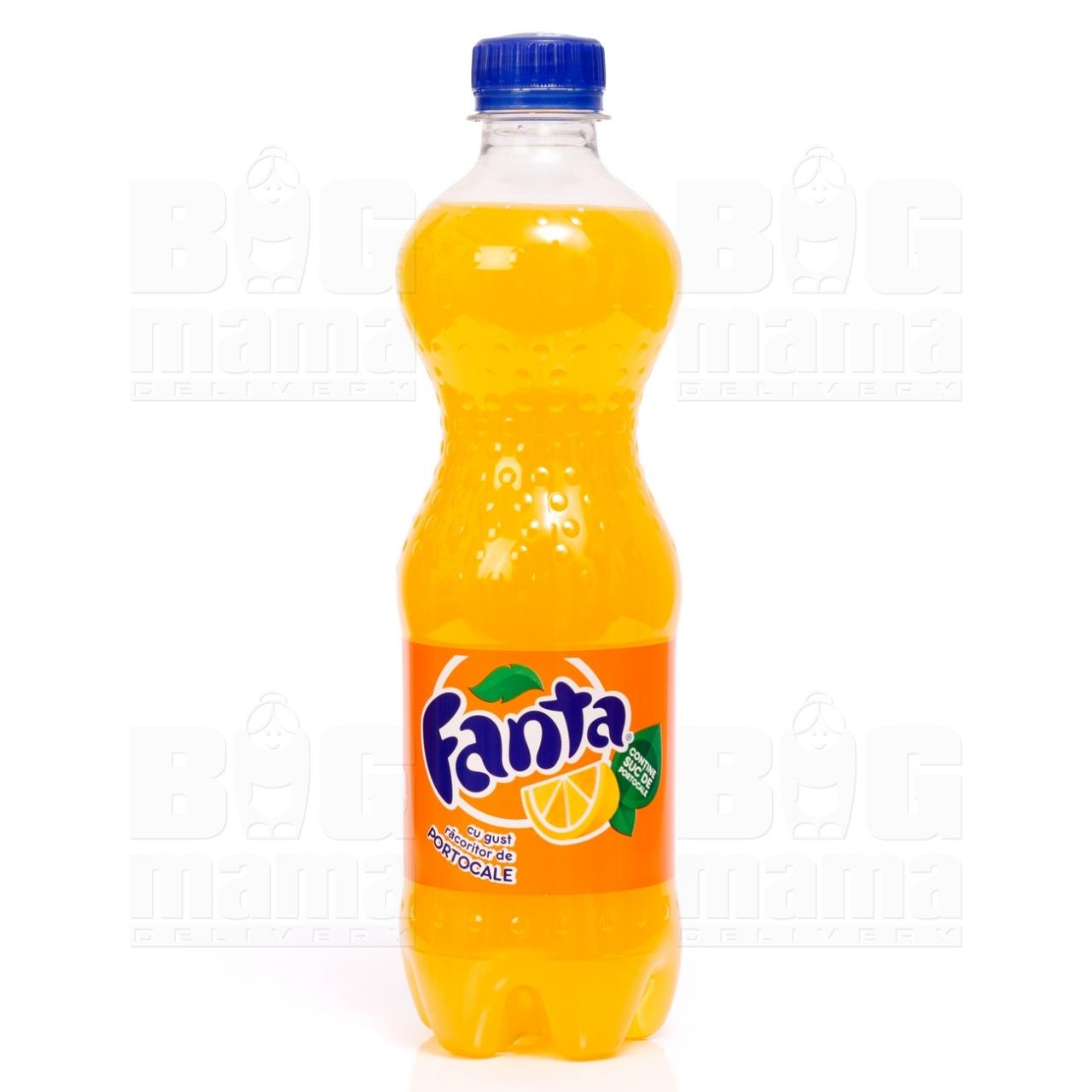 Product #112 image - Fanta portocale 0,5L