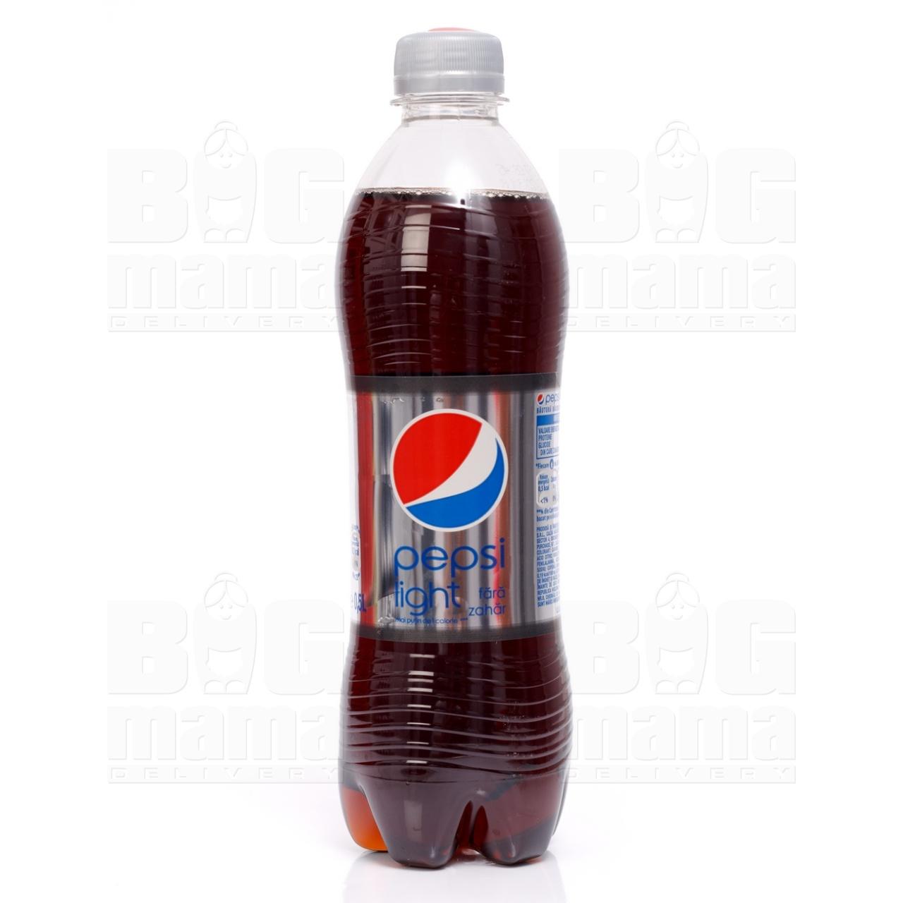 Product #117 image - Pepsi Light (fără zahăr), 0,5L