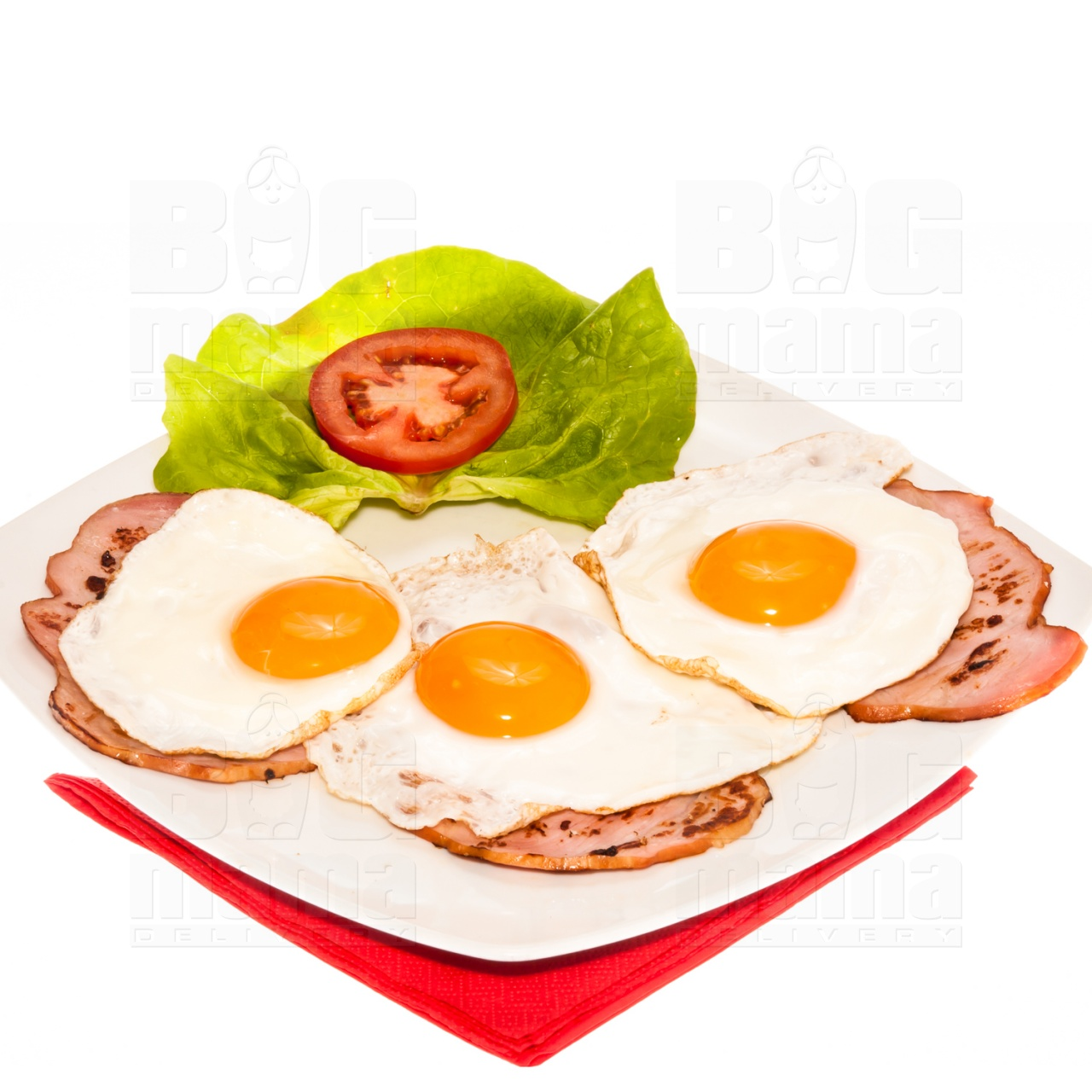 Product #134 image - Ham & eggs