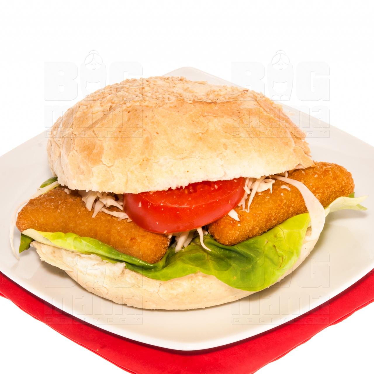 Product #145 image - Sandviș mic cu cașcaval pane