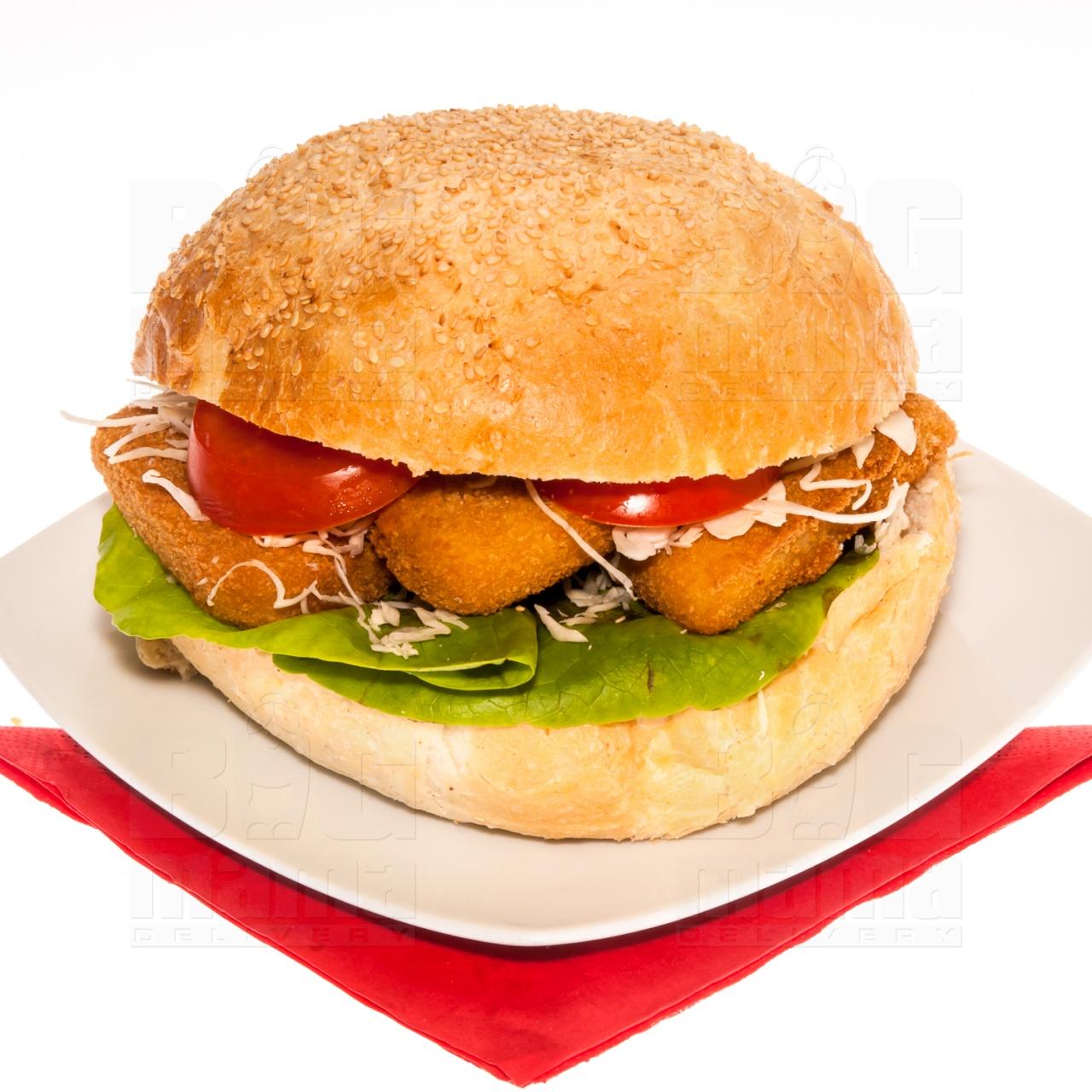 Product #146 image - Sandviș mare cu cașcaval pane