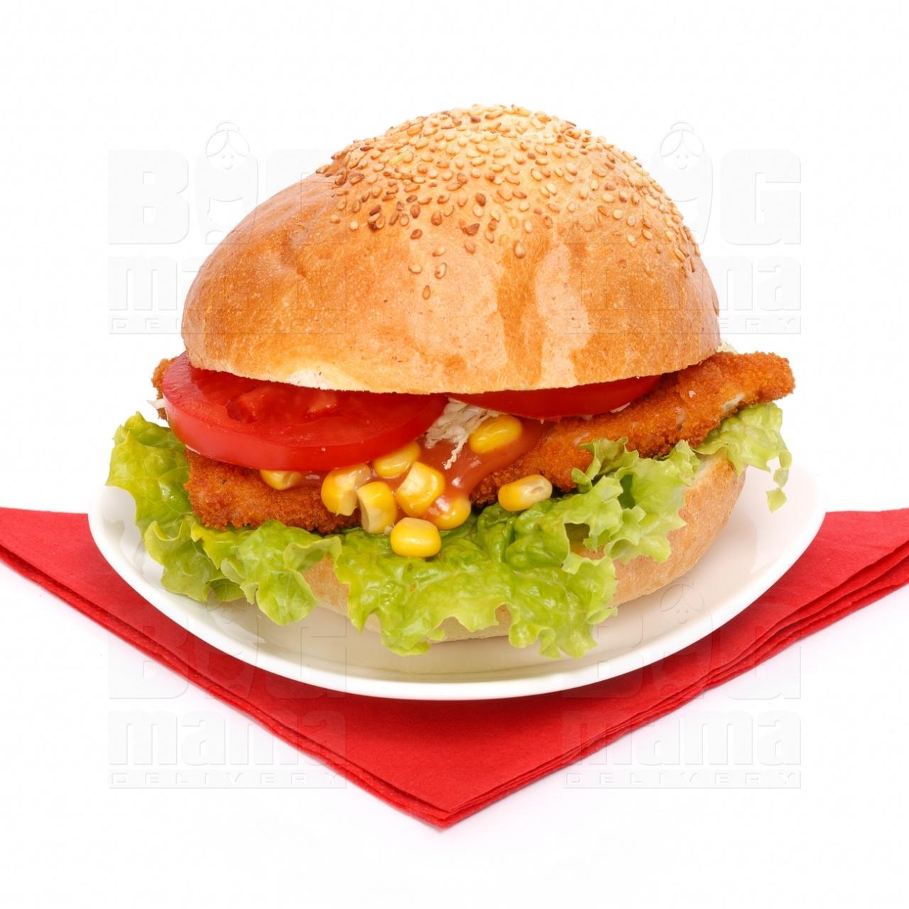 Product #53 image - Sandviş mic mexican cu şniţel de pui