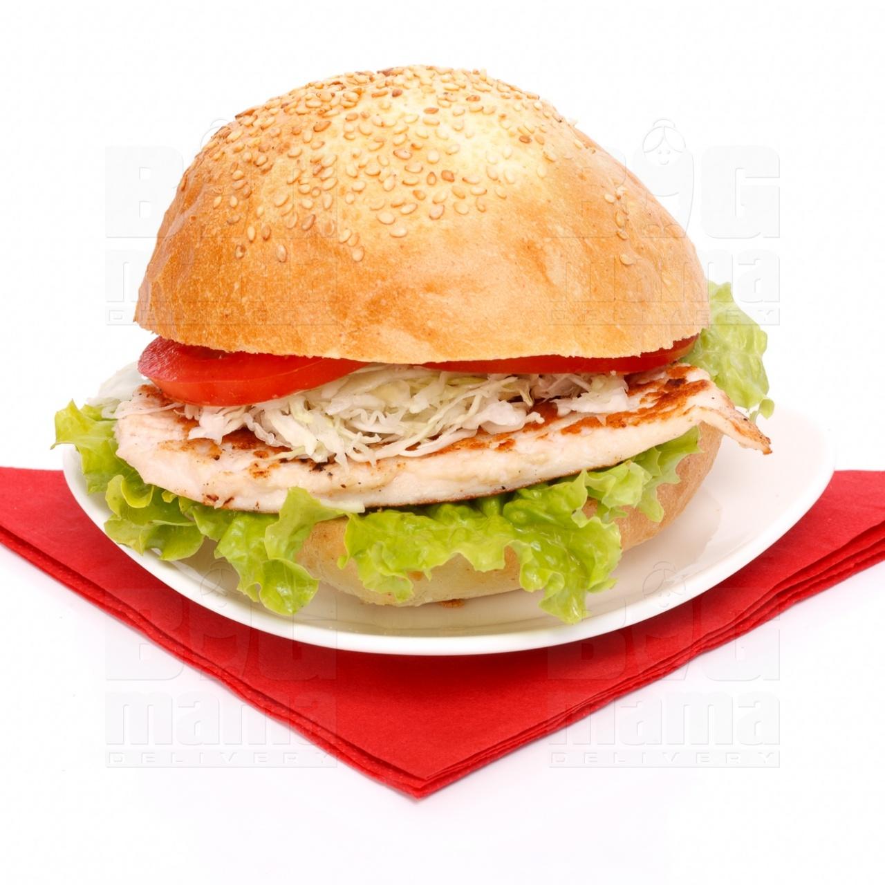 Product #56 image - Sandviş mare cu piept de pui la grătar