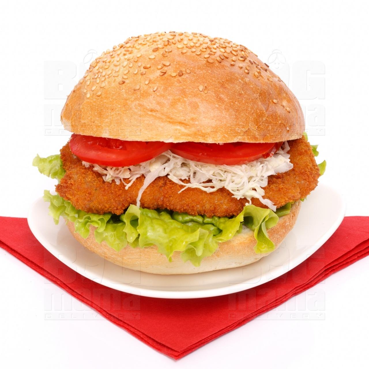 Product #58 image - Sandviş mare cu şniţel de porc