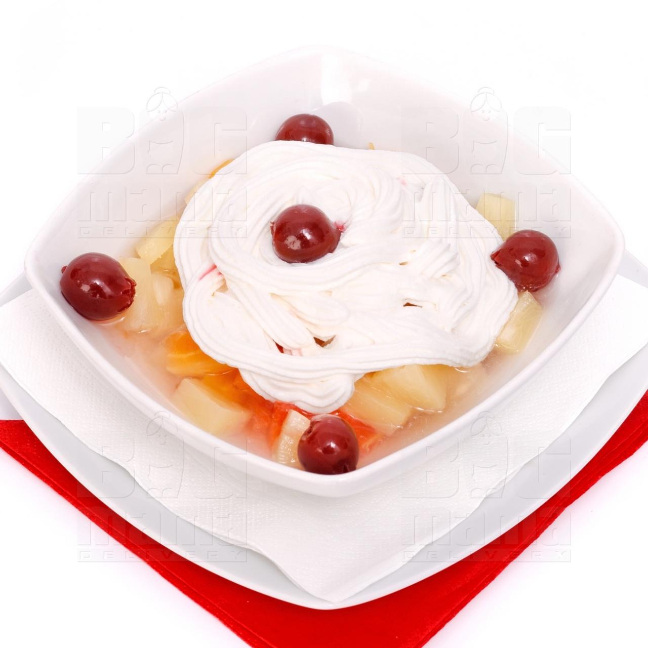 Product #81 image - Salată de fructe cu frişcă